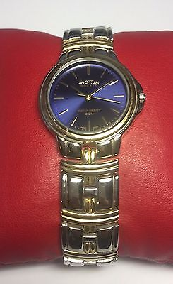 Activa by Invicta Quartz Two-tone Blue Dial Unisex 33mm Watch