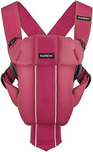Baby Bjorn Original Baby Carrier In Raspberry New!!