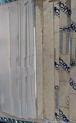Scrap Clear Acrylic Recycled Plastic Plexiglass Rigid Supply Melt Reuse 5lbs