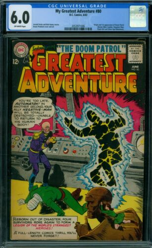My Greatest Adventure 80 CGC 6.0 - OW Pages
