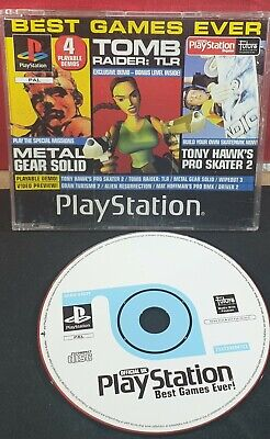 Sony Playstation 1 Magazine Best Games Ever Demo Disc 7 (Best Playstation 1 Games Ever)