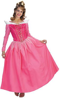 Disney Princess Aurora Sleeping Beauty Movie Character Adult Halloween Costume - Female Movie Character Costume