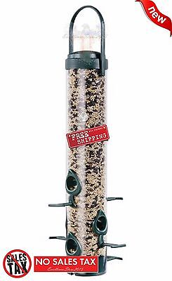 Garden Song Squirrel Proof Wild Bird Feeder Hanging Seed Outdoor Wildlife *New*