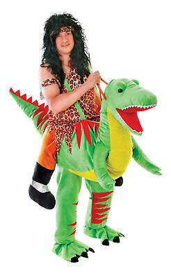 Schritt Dinosaurier T Rex Kostüm Herren Damen Tier Kostüm Outfit - Damen Dinosaurier Kostüm