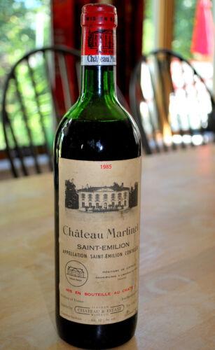 1985 Chateau Martinet Saint-Emilion