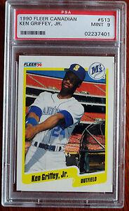 1b974a397d 1990 Fleer Ken Griffey Seattle Mariners #513 Baseball Card for sale ...