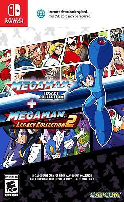 Nintendo Switch Spiel Mega Man Legacy Collection 1 + 2 NEUWARE