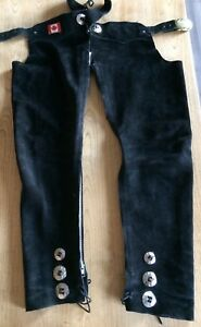 Suede Chaps