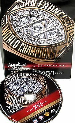 NFL Americas Game - San Francisco 49ers Super Bowl XVI, DVD,FOOTBALL FREE -