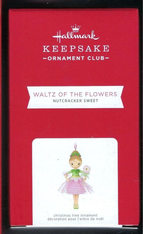 Hallmark 2021 Nutcracker Sweet Waltz of the Flowers 2021 Exclusive Ornament