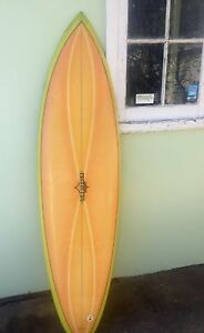 Vintage Surfboard - Len Dibben Cottesloe Cottesloe Area Preview