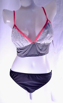 Route 101 sport top and bottom swimwear swimsuit set size L