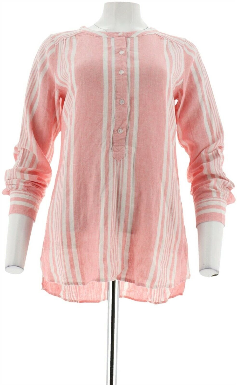 Vince Camuto Textured Grid Ruffle Slv Sheer Blouse Ultra White 2X NEW A306693