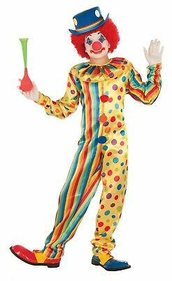 Child Spots The Clown Circus Costume ](Kid Clown Costumes)