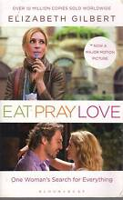 EAT PRAY LOVE-ELIZABETH GILBERT VGC COLLECT OR CAN POST AT COST Hughesdale Monash Area Preview