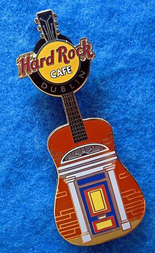 DUBLIN IRELAND CITY GEORGIAN PERIOD BLUE DOOR GUITAR HRC Hard Rock Cafe PIN LE
