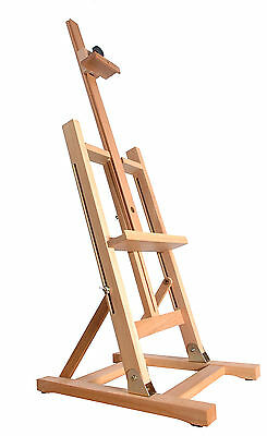 "BEECH WOOD TABLE TOP DISPLAY EASEL 41"" (1030MM HIGH) 3ft ARTIST ART CRAFT WOODEN"
