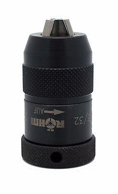 Rohm Supra-i Heavy Industrial Keyless Drill Chuck 0 - 532 Capacity Jt0 Mount
