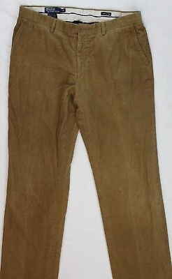 Polo Ralph Lauren Made in Italy Corduroy Pants Label 38 Meas 36x35