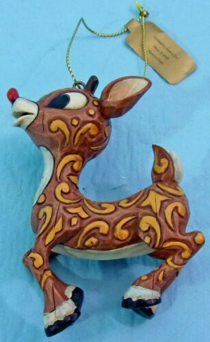 JIM SHORE 2007 RUDOLPH THE RED NOSE REINDEER MISFIT TOYS HANGING ORNAMENT