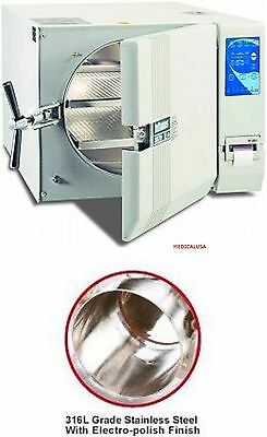 New Tuttnauer 3870ea - Large Capacity Automatic Autoclave - 2 Yr Pl Warranty