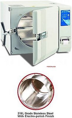 New Tuttnauer 3870eap- Large Capacity Automatic Autoclave - 2 Yr Pl Warranty