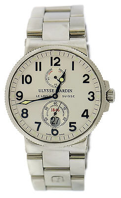 Ulysse Nardin Maxi Marine Stainless Steel Watch 263-66