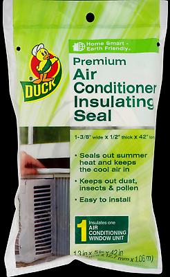 PREMIUM Window Air Conditioner INSULATING SEAL White Dense F