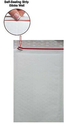 6.5x10 White Kraft Bubble Self Sealing Packing Mailers 0 250 Bags Cd Dvd 6.5x9