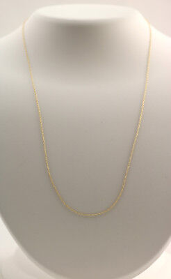 new 14k yellow gold .8 mm 18 i... Image 1