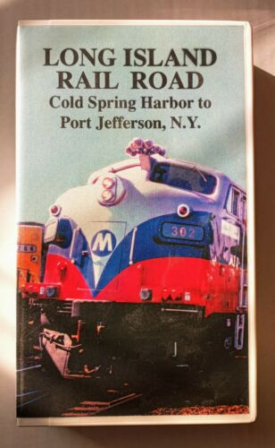 Railroad Productions LONG ISLAND RAILROAD Cold Spring HBR to Port Jeff  Tape 113