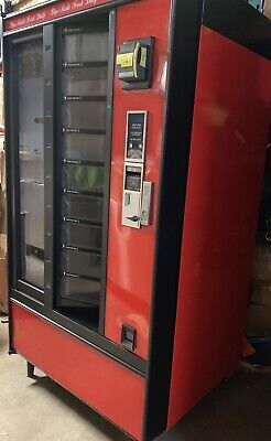 Crane National Shoppertron 431 Rotating Cold Food Vending Machine Refrigerated