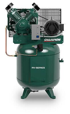 Champion 3 Phase 7.5hp 2 Stage 230 Volt 80 Gal Air Compressor 25.8 Cfm 23