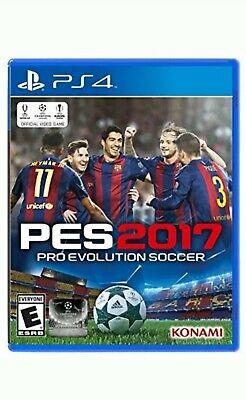 Pro Evolution Soccer PES 2017 PS4 NEW Sealed
