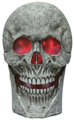 Halloween Giant Skull with Lighting Effects & Spooky Sounds Haunted House Prop