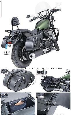 Borse Bisacce Laterali Highway Moto Honda Shadow VT600 VT750 Spirit ACE VT1100