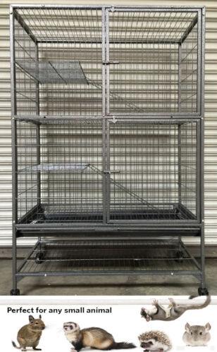X-Large Double Unit Cage Ferret Chinchilla SugarGlider Rat Mice Squirrel Rabbit