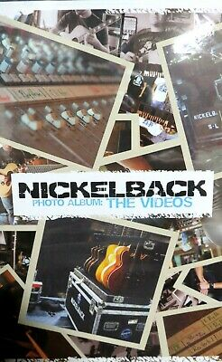 Nickelback THE VIDEOS,New! DVD,8 Best of Hits Videos Performance Music