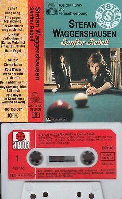 STEFAN WAGGERSHAUSEN - Sanfter Rebell >MC Musikkassette ,ariola super ferro 1982