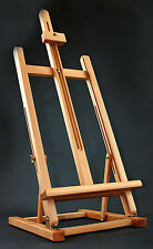 "Table Top Beech wooden Easel 3ft 41"" 1040mm High for display art craft artist"