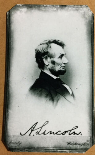 tintype Of President Abraham Lincoln Civil War  C1055RP