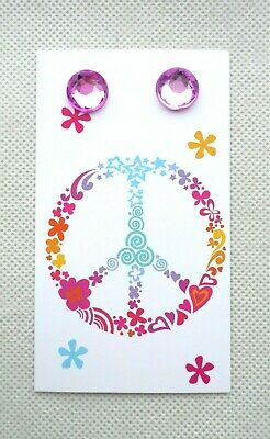 100 Boutique Earring Displays Earring Holder Peace Sign Basket Earring Cards