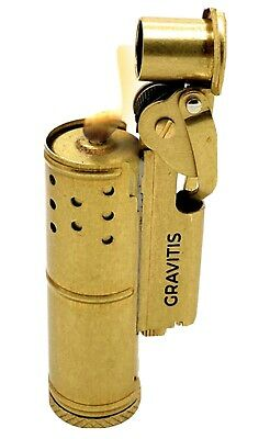 Gravitis Wheel Kerosene Lighter,Trench Lighter Vintage