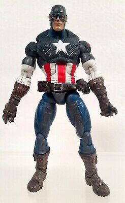 Toy Biz 2005 Marvel Legends series 8 Ultimate Captain America figure (no shield)