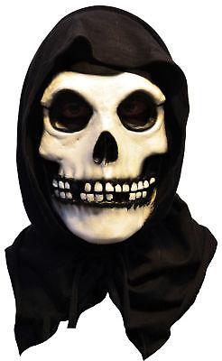 Misfits The Fiend Latex Mask Adult Skeleton Skull Face Halloween (Misfits Fiend Mask)
