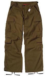 Vintage-Russet-Brown-Paratrooper-Cargo-Pants-BDU-XS-3XL
