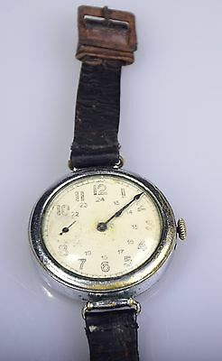 II WK ALTE ORIGINAL Russland Offizier Armbanduhr Mechanisch KIROV Kirow Watch