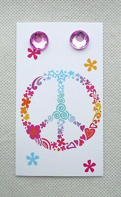 100 Boutique Earring Displays Earring Holder Cute Peace Sign Basket Earring Card