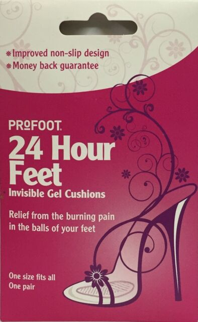 Profoot 24 Hour Feet Invisible Gel Cushions 1 Pair