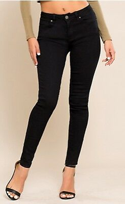 YMI-HIDE YOUR MUFFIN TOP HGH -WAIST SKINNY JEANS Muffin Top Waist
